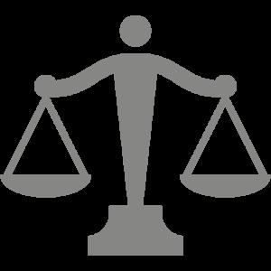 Pictogramme gris symbolisant les frais de notaire réduits
