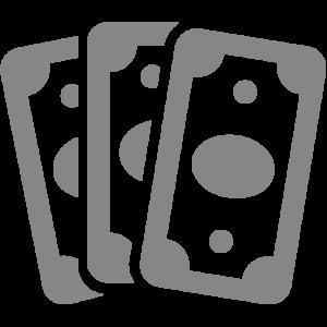 Pictogramme gris symbolisant les prix de vente